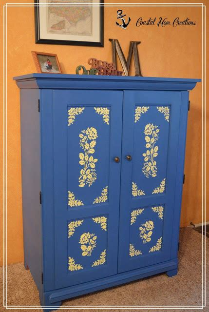 upcycled tv armoire coastal mom creations armoire upcycled to entryway mudcloset