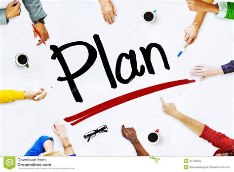 planning pic group of diverse multiethnic people planning stock photo