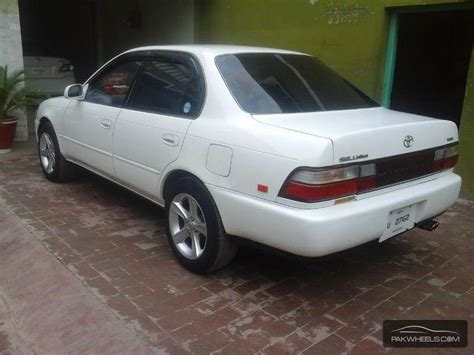 toyota corolla 1993 model for sale toyota corolla lx limited 1 3 1993 for sale in peshawar