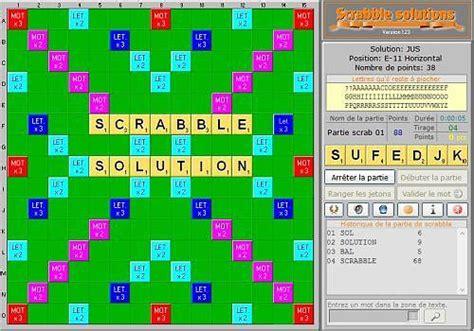 scrabble francais en ligne t 233 l 233 charger scrabble solutions gratuit le logiciel gratuit