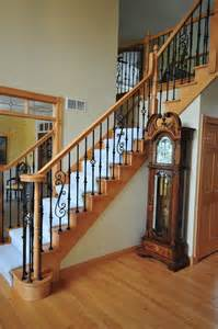Wrought iron staircase as home decoration heavenly home decorating