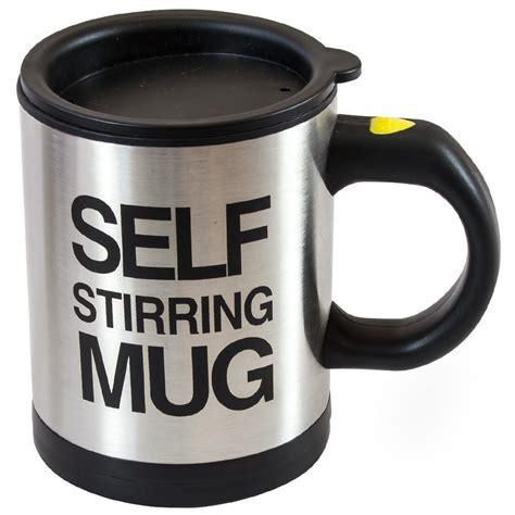 Mug Unik Self Steering Mug summit go3 self stirring mug trading company