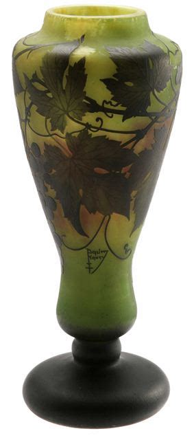 daum nancy grapes vase value and appraisal 187 daum nancy