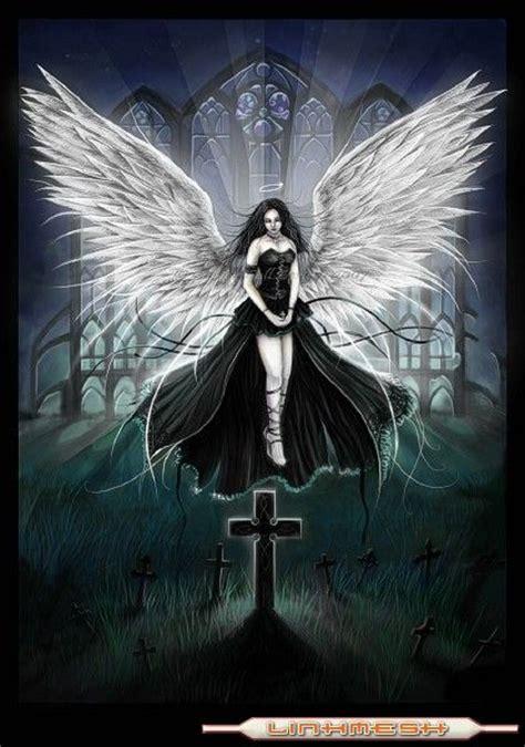 imagenes surrealistas goticas dennis guzman angeles goticos