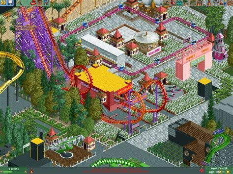 theme park beds worlds of happiness rct2 theme park review