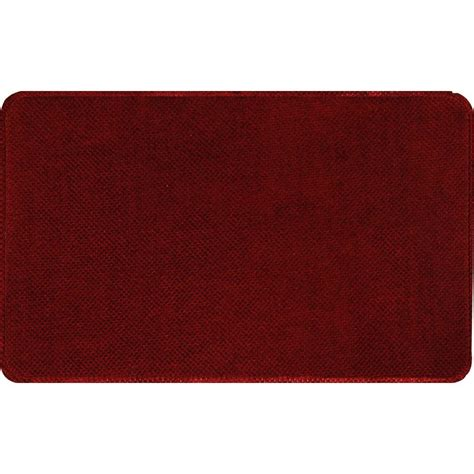 anti fatigue rugs home dynamix relief rlm burgundy 20 in x 30 in anti fatigue comfort mat 1 rlm 201 the home depot