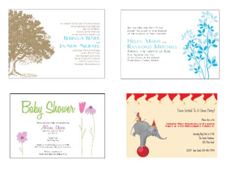 make your own invitation cards free make your own printable coupons