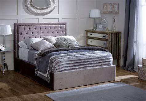 limelight bed limelight beds rhea 5ft kingsize ottoman bedstead silver