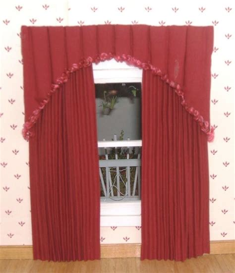 how to make curtains for dollhouse 74 best dollhouse windows curtains cloth diy images on