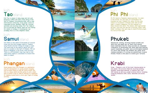 travel guide brochure template 1 best agenda templates