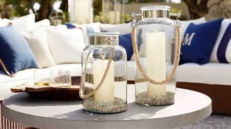 Decorate Home For Birthday Party by Outdoor Lanterns And Candles For Outdoor Coffee Table