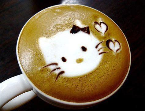 artistic coffee cat inspired designed coffee arts that will make you smile