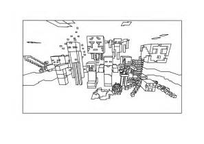 mindcraft coloring pages free coloring pages of minecraft mobs