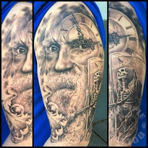 father time tattoo the world s catalog of ideas