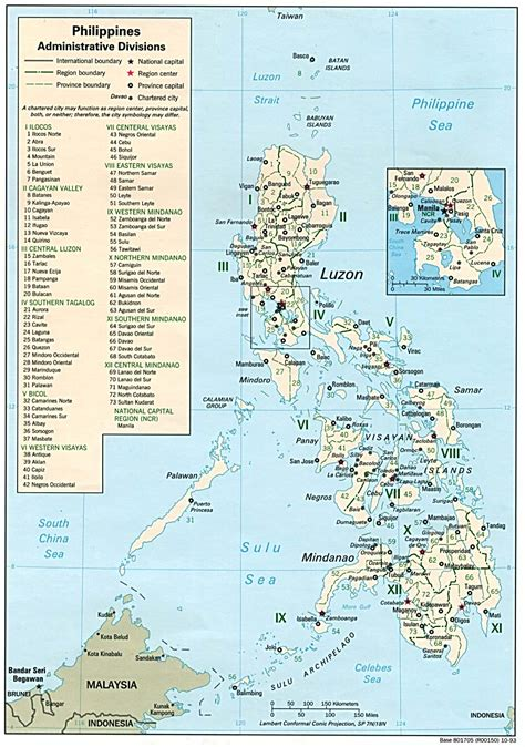 philippine map philippines maps perry casta 241 eda map collection ut library