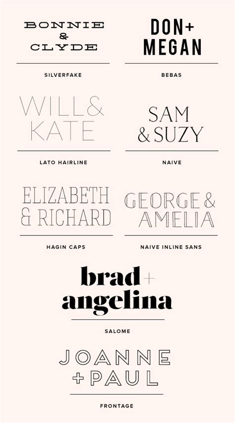 Wedding Font Serif by Wedding Font Ideas 100 Layer Cake Bloglovin