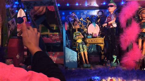my monster high doll house tour my monster high doll house youtube