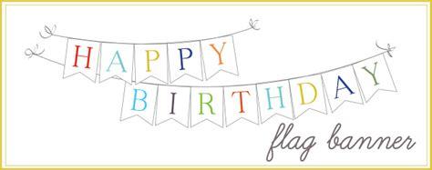 printable birthday banner maker sissyprint happy birthday banner