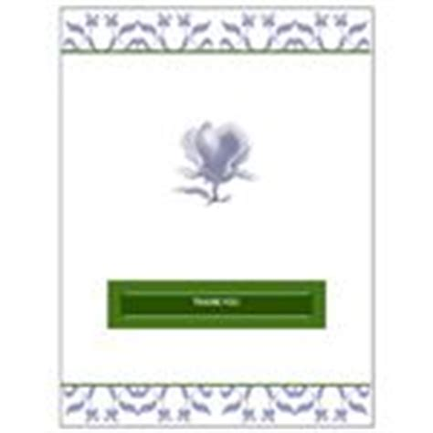 free thank you card templates in publisher free downloads simple template for a greeting card in