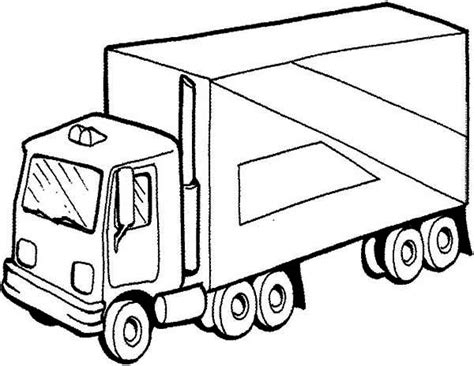 coloring pages mail truck free coloring pages of farm region