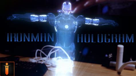after effects template free iron man holographic realistic iron man hologram adobe after effects youtube