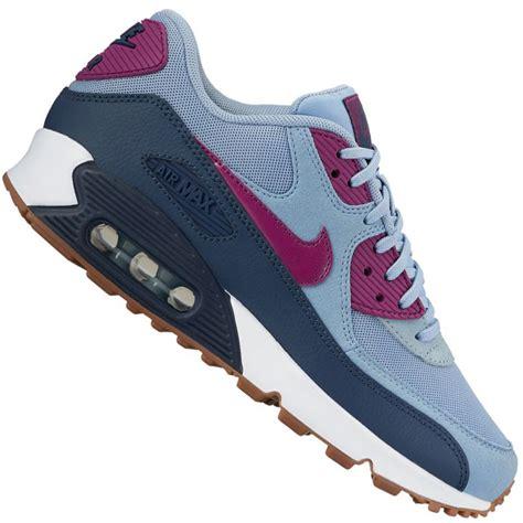 Nike Air Max 90 Grey Blue nike wmns air max 90 essential damen sneaker blue grey
