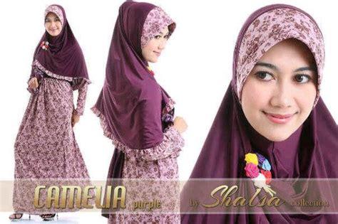 Camelia Syari Pink Biru butik busana muslim terbesar dan terlengkap january 2014