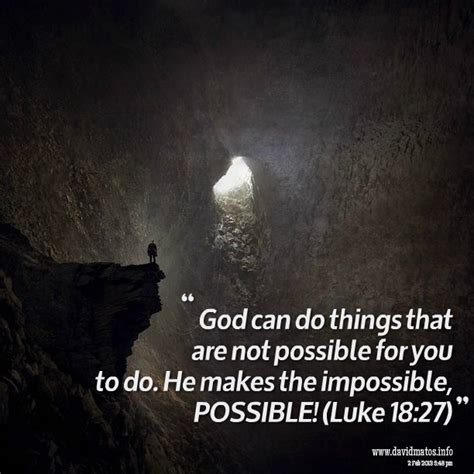 only god can do it the story the song books make the impossible possible quotes quotesgram