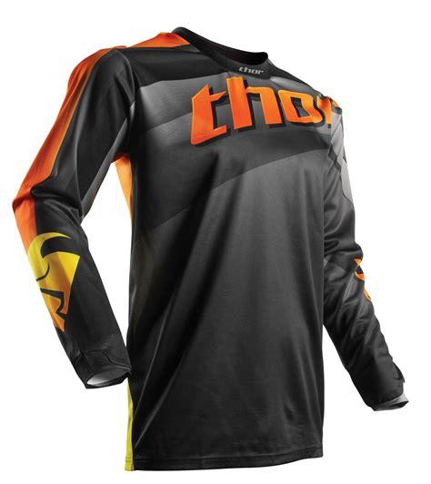 mens motocross jersey thor mx motocross men s 2017 pulse velow jersey black