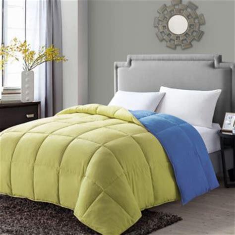 reversible down alternative comforter vcny paradise reversible down alternative comforter bed
