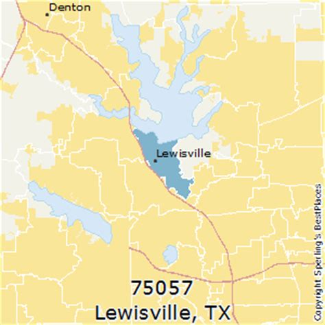 best places to live in lewisville (zip 75057), texas