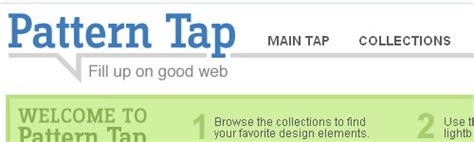 pattern tap tags 7 site uri inspirationale