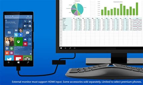 windows 10 continuum permite usar smartphone o tableta