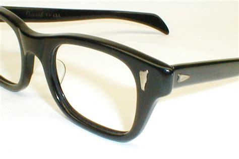 mens vintage eyeglasses 2 tone frames ward optical mod