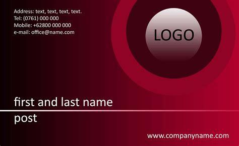 design kartu nama islami aneka design kartu nama anak melayu