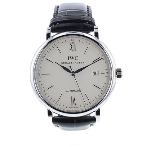 Automatic For The iwc portofino automatic 40mm iw356501 mens