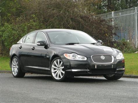 used black jaguar xf 2008 diesel 2 7d premium luxury 4dr