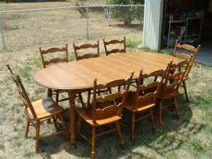dining table tell city dining table chairs