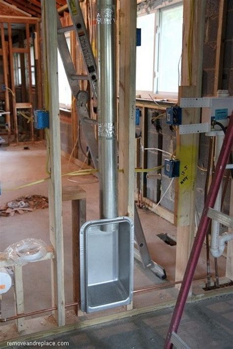 dryer vent inside 2x4 wall dryer vent box allows you to push your dryer against the