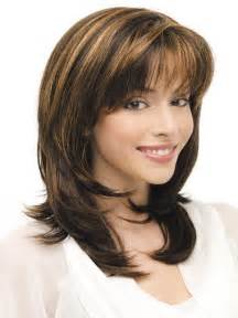 layered medium lenght hair with bangs medium layered haircuts with bangs 2014