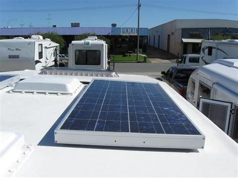 how to fit a solar panel rv electrical rv power rv solar panels rv batteries autos post