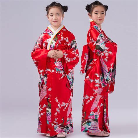 kid s yukata obi vintage japanese gril s kimono