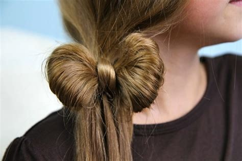 hairstyles cute bow the ponytail bow cute hairstyles cute girls hairstyles