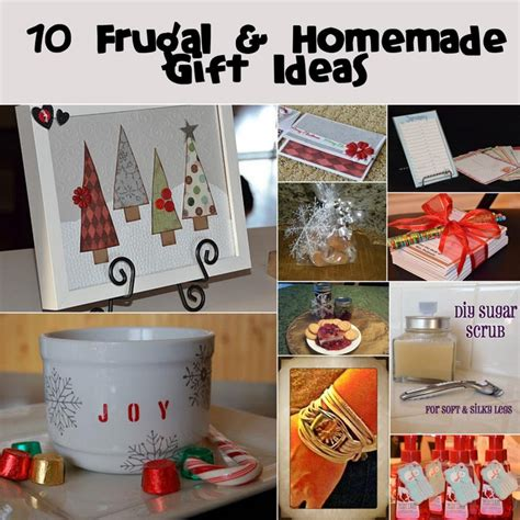 Simple Handmade Gift Ideas - easy gift ideas gift ideas