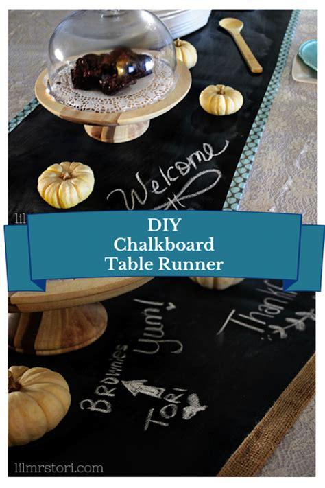 diy chalkboard materials diy table runner chalkboard fabric