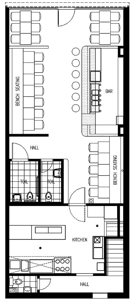 small restaurant floor plans cafe floor plan pinteres