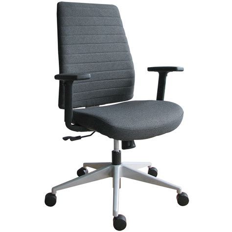 Modern Frasso Fabric Swivel Chair With Adjustable Arms Adjustable Swivel Chair