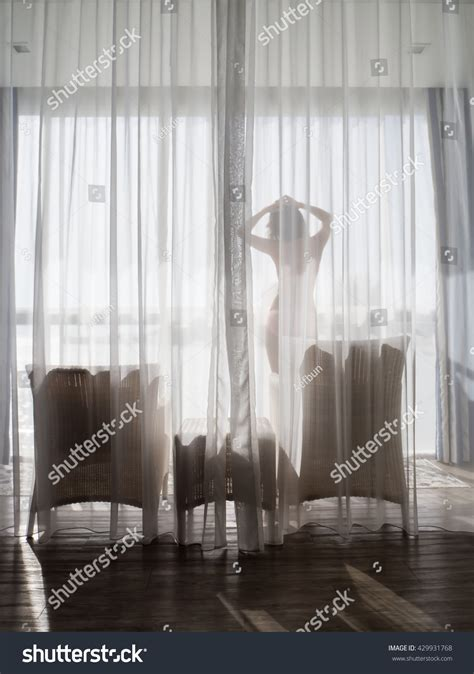 black see through curtains see through curtain sexy stock photo 429931768 shutterstock