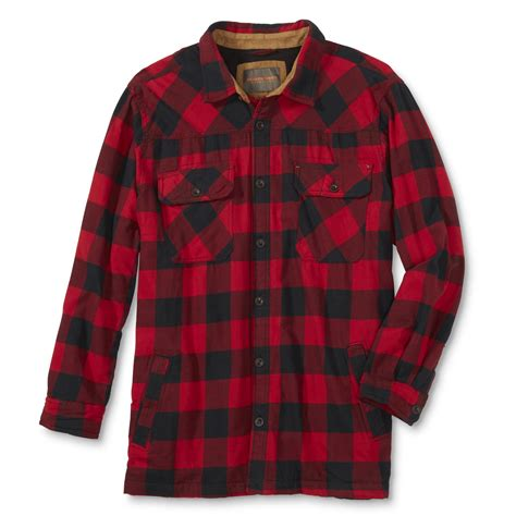 Plaid Shirt Jacket northwest territory s big shirt jacket plaid
