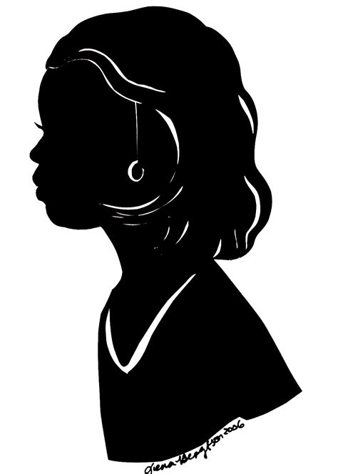 black woman silhouette african american silhouette clipart